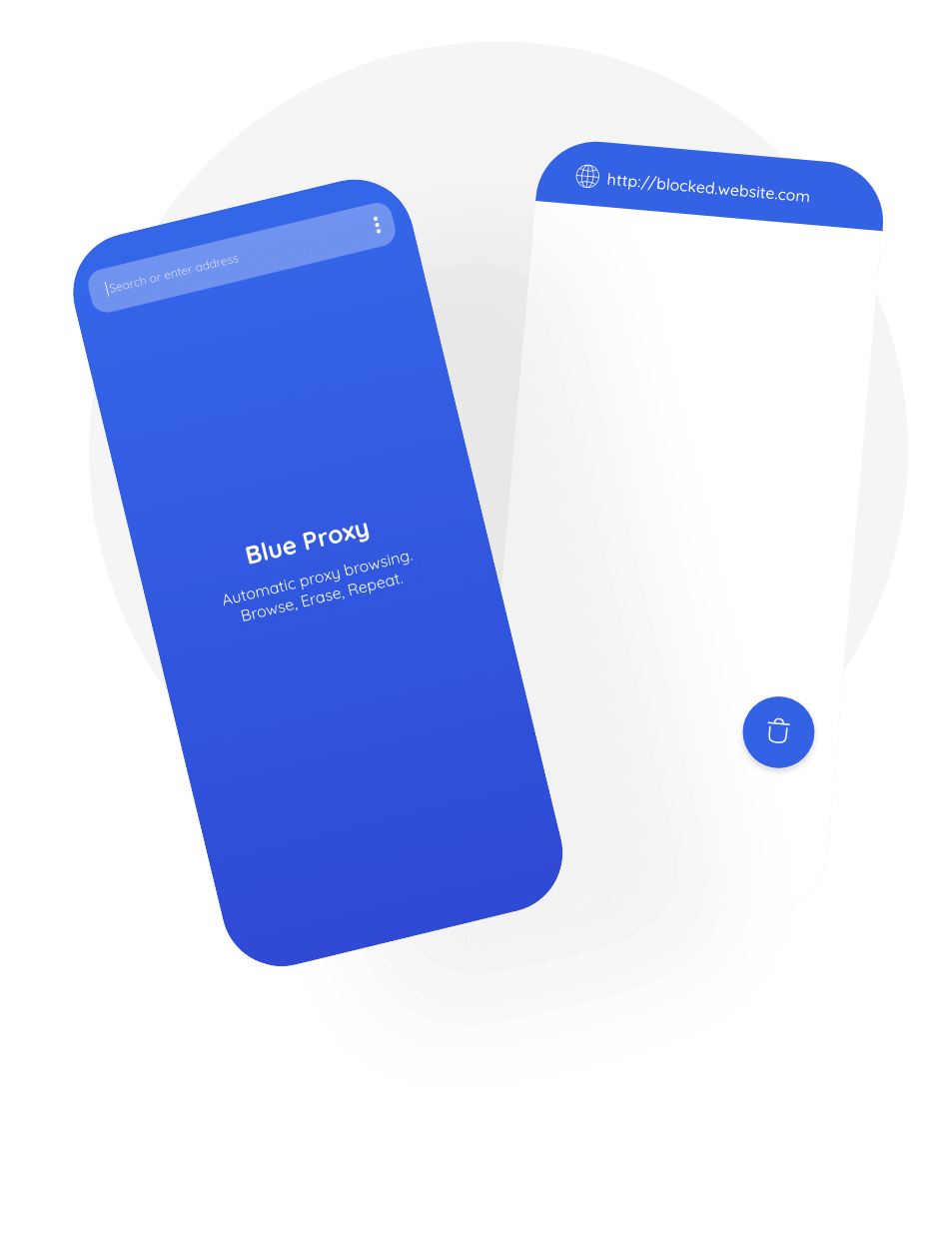 Blue Proxy App, Proxy, Android, Mobile