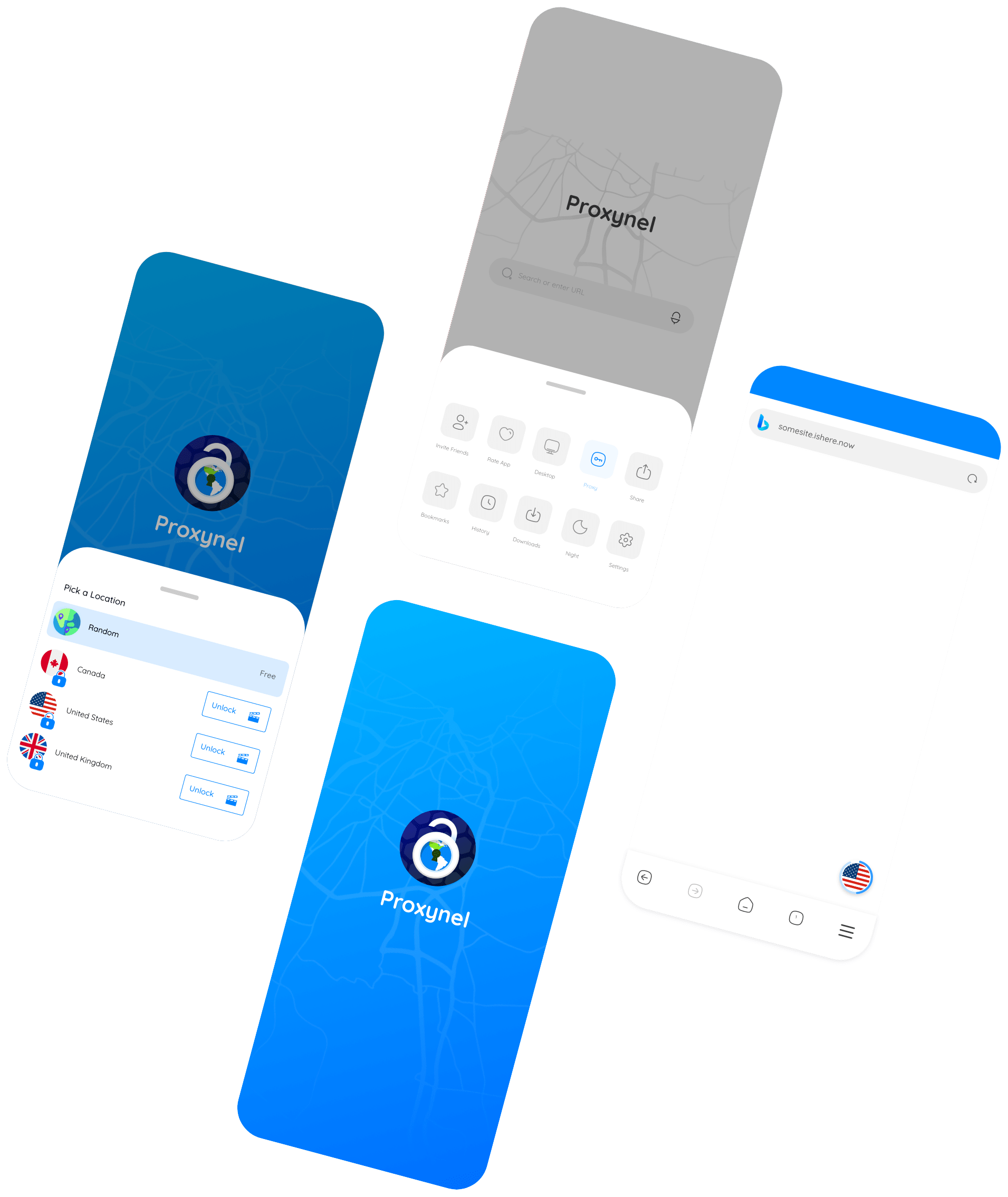 Proxynel App, Proxy, Android, Mobile