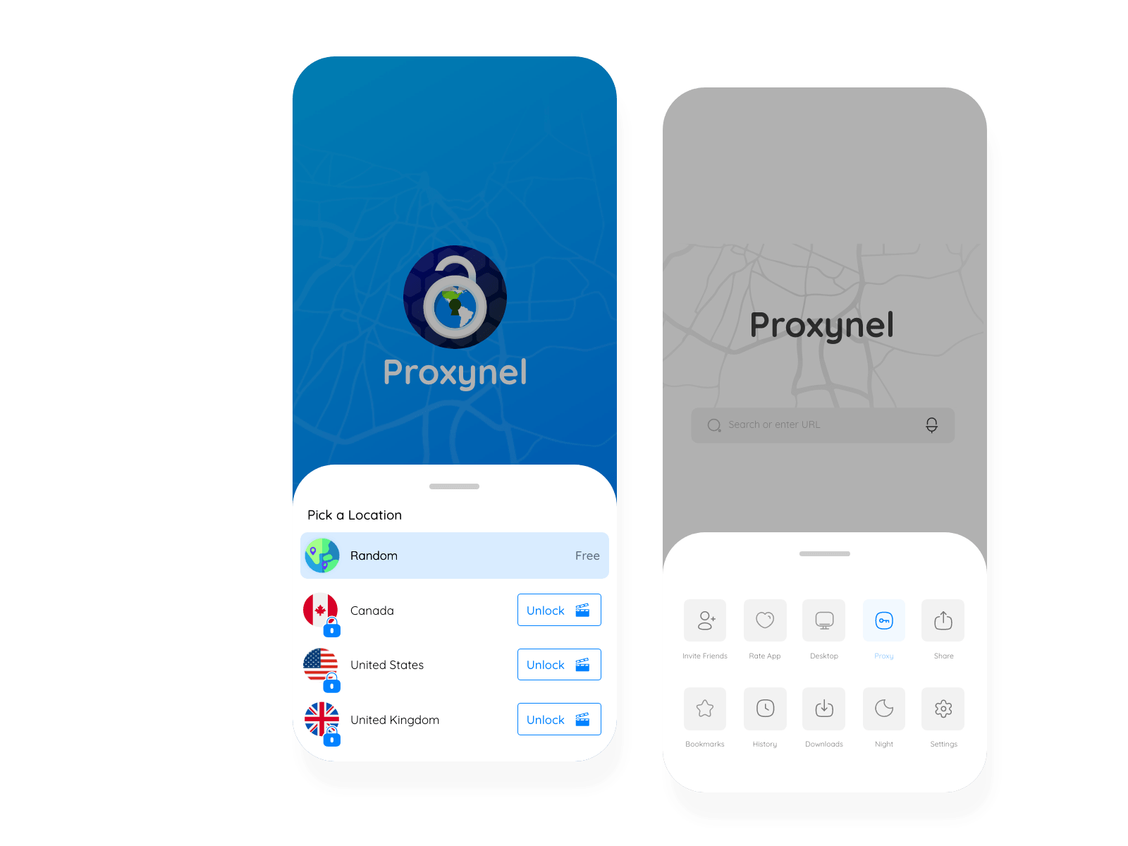 Proxynel, Proxy application, Android